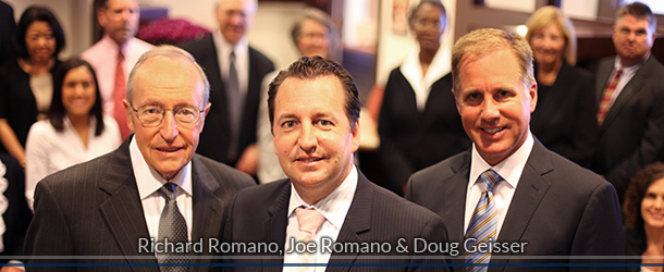 Dick Romano, Joe Romano and Doug Geisser