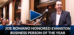 Joe Romano – Evanston Businessperson of the Year