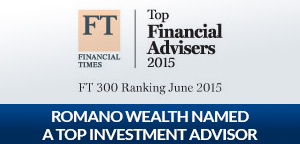 Romano Brothers Named A Top Investment Advisor by Financial Times